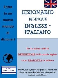 dizionario bilingue inglese italiano